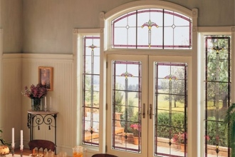 Andersen French Door - Art Glass