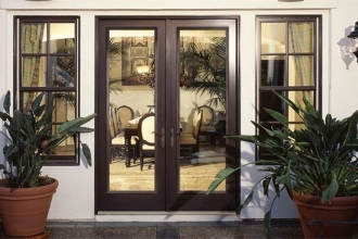 Simonton French Door Bronze Finish