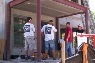 FASWD installing the New American Home Project!