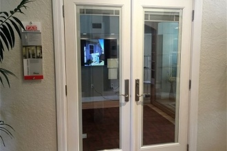 Neuma French Door with Blinds