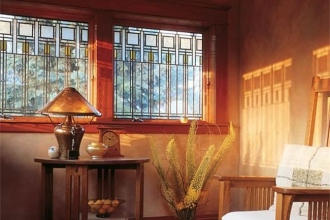 Andersen Windows - Art Glass Sitting Area