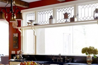 Andersen Windows - Kitchen Art Glass