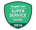 Angies List Super Service Award 2016 FAS Windows and Doors
